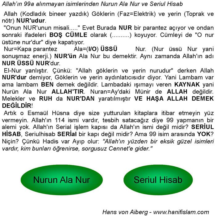033 09 Nurun Ala Nur Serul Hisab