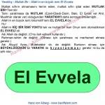 070-04-mutlak-bir-Allahin-en-buyuk-ismi-ilk-ismi-elevvela